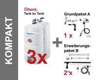 SCHÜTZ Öl-Lagerbehälter Paket, Tank im Tank, Kunststoff, T103 - Kompakt