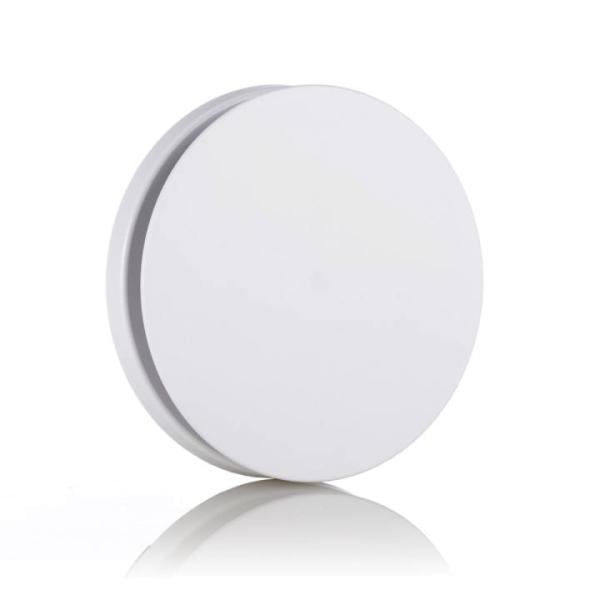 Zehnder Comfo Valve Luna E 125 Abluftventil Ansicht Designblende in weiß - Selfio