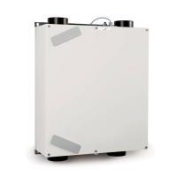Zehnder Lüftungsgerät ComfoAir 160 V ohne Bedieneinheit, Ansicht frontal, Farbe weiß - Selfio