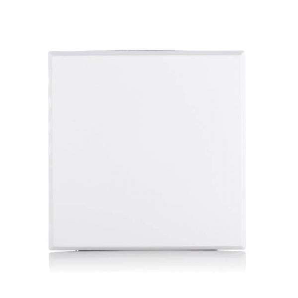 Limodor Deckel glattflächig, weiß LF/ELF-AP für Kleinraumventilatoren Vorderseite Selfio