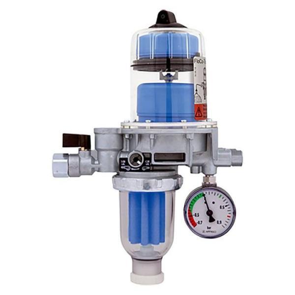 Afriso automatischer Heizölentlüfter FloCo-Top-2KM Si inkl. Sikusieb kurz, 50 - 70 µm