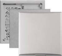 Limodor Gebläseeinheit compact 100 Ansicht Abdeckplatte, Filter und Rückseite Selfio