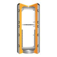 Juratherm Hochleistungs-Pufferspeicher mit Schichtladesystem JPSL 1000 - 1561000 von Selfio