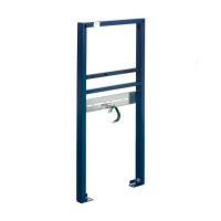 Vorwandinstallationssystem Grohe Rapid SL für Waschtisch, Farbe blau - Ansicht schräg - Selfio