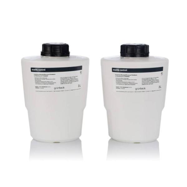 Grünbeck Mineralstofflösung exaliQ control 2 x 3 Liter