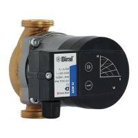 Biral Trinkwasser-Umwälzpumpe AX 20-0,8 120 BLUE Frontansicht mit Bedienfeld