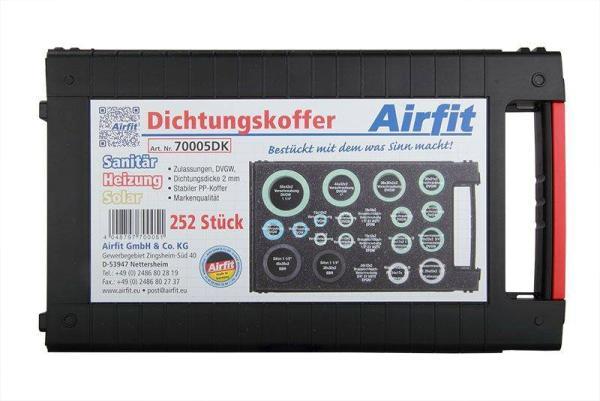 Airfit Universal Dichtungskoffer Sanitär, Heizung, Solar - 252 Teile