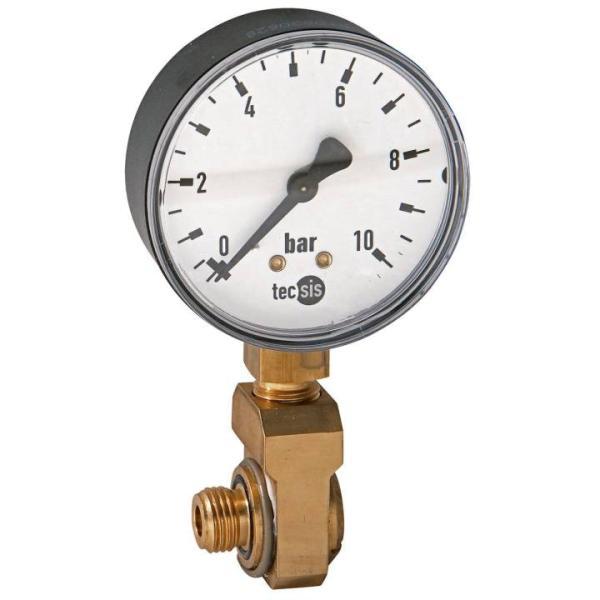 SYR Manometer mit Winkelanschluss für Sicherheitscenter