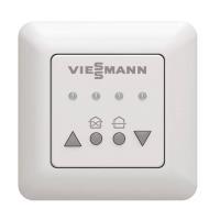 Viessmann Bedienteil LED für Vitovent 100-D Vorderseite mit Bedienelementen Selfio