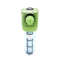 Grünbeck Feinfilter mit Druckminderer Boxer KDX 3/4 Frontansicht, Farbe grün von Selfio