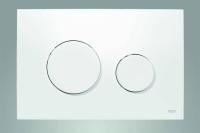 TECEloop WC-Betätigungsplatte Kunststoff für Zweimengentechnik