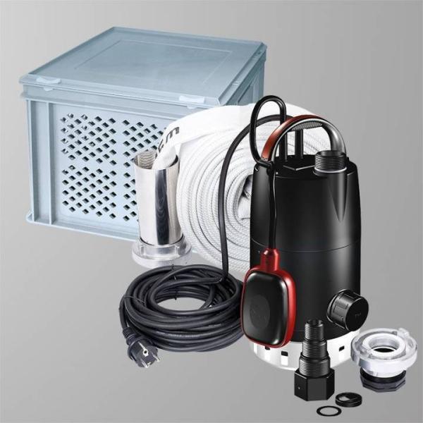 Grundfos Multibox Unilift Hochwasser-Paket Komplett