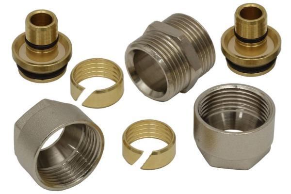 Rohrkupplung 20 x 2 mm Universal