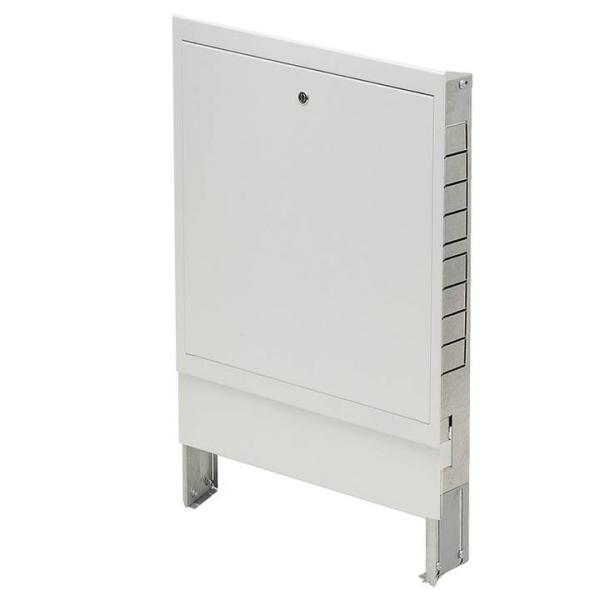Verteilerschrank für Heizkreisverteiler Unterputz max. 2 Heizkreise UP1 - 100420UP-UP1 Selfio