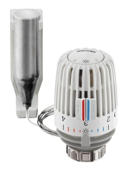 Heimeier Thermostatkopf K mit Fernfühler, flüssigkeitsgefülltes Thermostat Kapillarrohr 2 m - 6002-00.500 Selfio