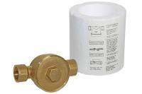 Einrohranschlussstück für Wohnungs-Wasserzähler Koax 2 Zoll