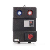Selfio Zweiwege Pumpengruppe mit Mischventil und Stellmotor Frontansicht