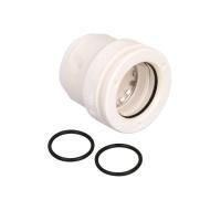 Alu-Verbundrohr Steckfitting Vision, Ersatzset (Hülse und 2 x O-Ringe) 16 mm