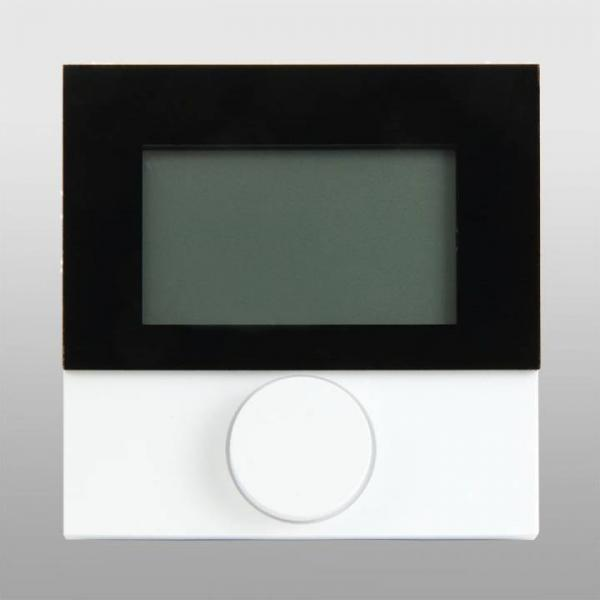 Alpha Regler direct Standard LCD 230 V mit Designscheibe - 130564 Selfio