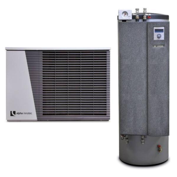 alpha innotec Luft/Wasser Wärmepumpe alira LWD mit Hydrauliktower