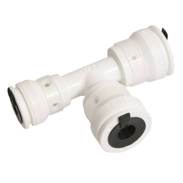 Alu-Verbundrohr Steckfitting Vision T-Stück reduziert (20 x 16 x 16 mm)