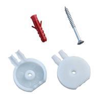 Windschutzdose für alle P4 Luftdruckwächter mit Dübel und Schrauben Selfio