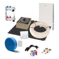 Fußbodenheizung 35 mm Noppensystem 90 qm Komplettset PE-RT Verlegeabstand 15 cm Raumthermostat analog | Selfio