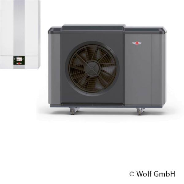 Wolf Wärmepumpe CHA-Monoblock 07/400V mit E-Heizelement Komplett - 9146862 Selfio