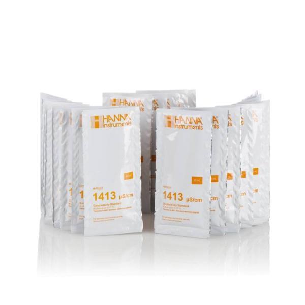 3200.00.909 - SYR Kalibrierlösung für Leitfähigkeitsmessgerät 25 x 20 ml