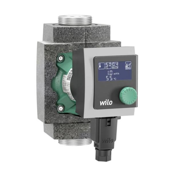 Wilo Umwälzpumpe Stratos PICO-Z 25/1-4 180mm mit Wärmedämmschale Frontansicht