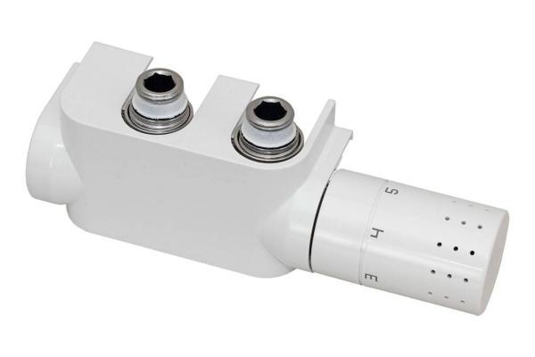Simplex Design Anschlussarmatur / Multiblock-Set - Anschluss rechts - F12013 Selfio