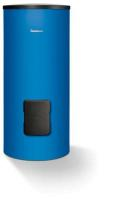 Buderus Warmwasserspeicher Logalux SM300/5, Ansicht Vorderseite, Farbe blau - Selfio