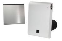 Dezentrales Zehnder Komfort-Lüftungsgerät ComfoAir 70 Außenwandhaube aus Edelstahl Selfio