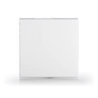 Limodor Abdeckplatte glattflächig, weiß LF/ELF für Kleinraumventilatoren Vorderseite Selfio