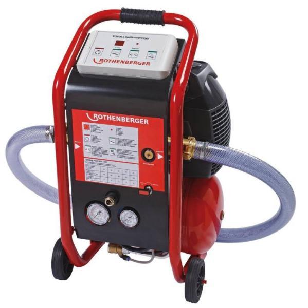 Rothenberger Spülkompressor / Reinigungskompressor ROPULS für Wasserleitungen