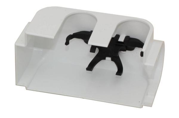 Simplex Designverkleidung für Anschlussarmatur / Multiblock, links, weiß - F12036 Selfio