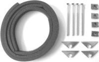 Befestigungssatz BFS-compact mit Moosgummistreifen und ZubehörSelfio