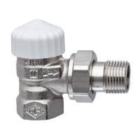 Heimeier Thermostat-Ventilunterteil V-exact II, Eckform, DN 20, vernickelt - 3711-03.000 Selfio