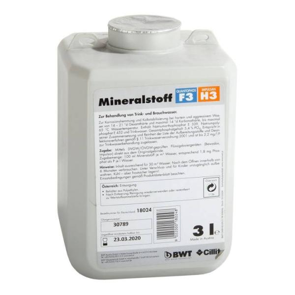 BWT Mineralstoff-Dosierlösung Quantophos F3/H3