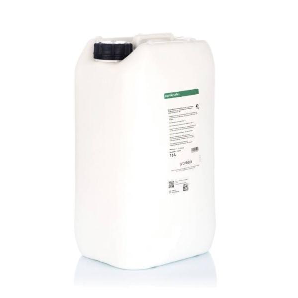 Grünbeck Mineralstofflösung exaliQ safe+ 15 Liter Seitenansicht