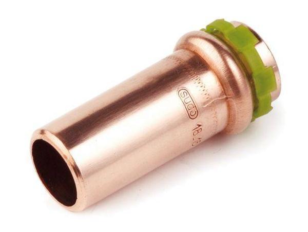 Kupfer Pressfitting Sudo-Press Reduzierung 15 mm - 12 mm außen/innen Kontur V DVGW