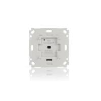Homematic IP Rollladenaktor für Markenschalter HmIP-BROLL 151322A0 Frontansicht