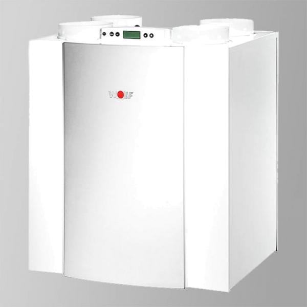 Wolf Paket Comfort-Wohnungs-Lüftung Excellent CWL-300 Typ 4/0 L, Revisionstür links mit BM-2 ohne Außenfühler, Farbe weiß - Selfio
