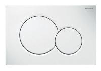 GEBERIT Betätigungsplatte SIGMA01 für 2 Mengen, Farbe weiss - Selfio