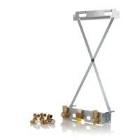 Viessmann Aufputz-Montagehilfe für Gas-Brennwert-Heizgeräte Komplett Schrägansicht ZK04307 Selfio