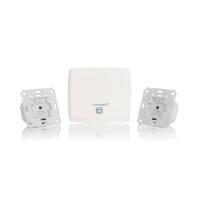 Homematic IP Starter Set Beschattung HmIP-SK5 151670A0 - Einzelkomponenten Access Point HmIP-HAP, 2x Rollladenaktor für Markenschalter HmIP-BROLL