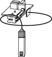 Skizze Feuchteregler C-FR für Lüfterserie compact Selfio