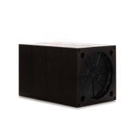 Zehnder Wandeinbaurohr quadratisch Farbe schwarz für ComfoSpot 50 Selfio