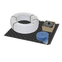 Fußbodenheizung Noppensystem 11 mm - Aluverbundrohr - Verlegeabstand 10 cm Basis Set 50 m² | Selfio