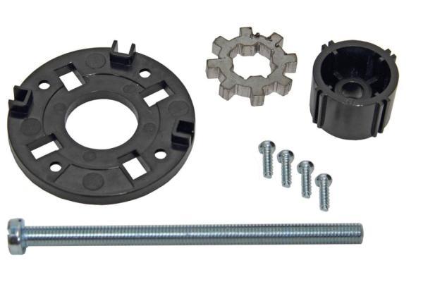 Anbausatz ST10/STM10 für ESBE-Mischer Kompletter Lieferumfang